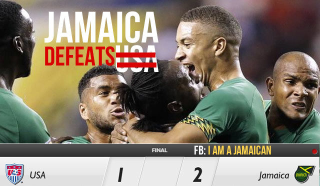 Watch: Jamaica Makes History Defeating USA 2-1, first Caribbean team to make to the Gold Cup final