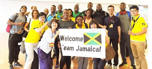 vcampbellbrown Members of team Jamaica welcomed by supporters