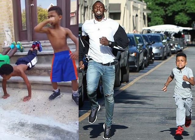 Jamaican Kid Trainer Challenges Usain Bolt To A Race I Am A Jamaican