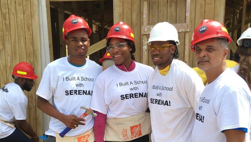 Serena Williams Builds Schools In Trelawny, Jamaica