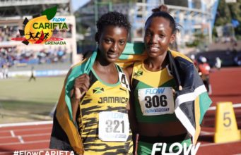 Gold and Silver For Jamaica in Girls 800m U-18 at CARIFTA