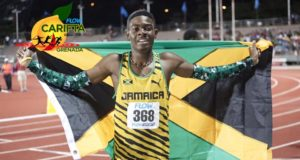 Christopher Taylor Wins Gold in Boys' 400m U-18 at CARIFTA 2016