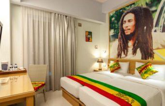 The Bob Marley Hotel Room