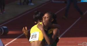 Shannon Kalawan (JAM) Breaks Carifta Girls' 400m Hurdles U-20 Record
