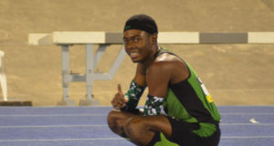 Christopher Taylor Breaks 200m Meet Record at 2016 ISSA Champs