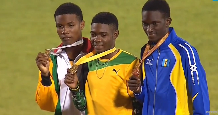 Christopher Taylor Wins Gold in Boys U-18 400m at CARIFTA 2016