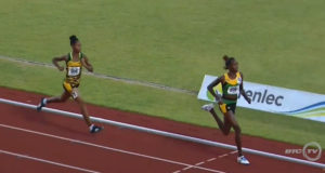 Jamaica Wins Gold and Silver in Girls 1500 Meter at CARIFTA 2016