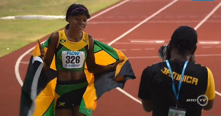 Jamaica Wins Gold In Girls' 1500M UNDER 20 At CARIFTA 2016