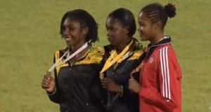 Jamaica Wins Gold, Silver in Girls's Heptathlon OPEN at CARIFTA 2016
