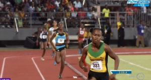 Jamaica Wins Girls' 4x400m U-18 at CARIFTA 2016