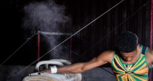 Jamaican-Gymnast-Nicholas-Tai. Photo by (photo by Glen Jackson