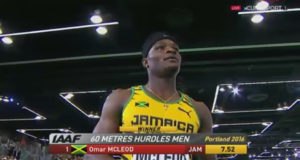 Omar Mcleod Wins Men's 60m Hurdles Semi-Final in 7.52
