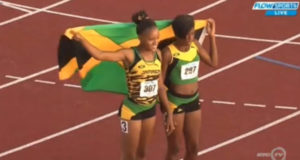 Gold, Silver for Jamaica in Girls' 200m at CARIFTA 2016