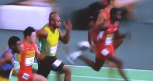 Asafa Powell Wins Silver in Men's 60m at World Indoor Championship