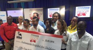 Shaggy Donates $55 Million to Children's Hospital
