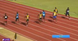Nigel Ellis (JAM) Wins Boys' 100m U-20 at CARIFTA 2016