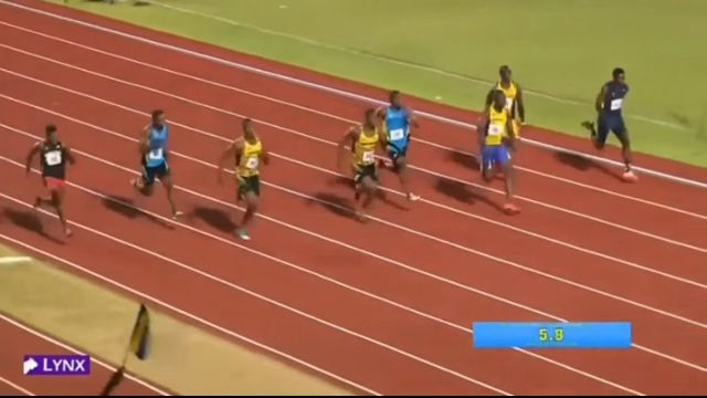 Nigel Ellis (JAM) Wins Boys' 100m U-20 at CARIFTA 2016