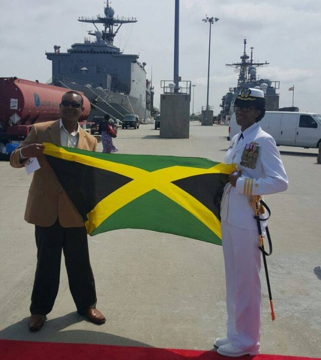 Commander Janice G. Smith became the first immigrant of Jamaican descent to command a destroyer when she assumed command of the Arleigh Burke-class guided-missile destroyer USS Oscar Austin (DDG 79) during a ceremony held at Naval Station Norfolk, May 2.