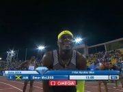 Omar McLeod 13.05 (+1.4) WL wins Men's 110mH Doha Diamond League 2016