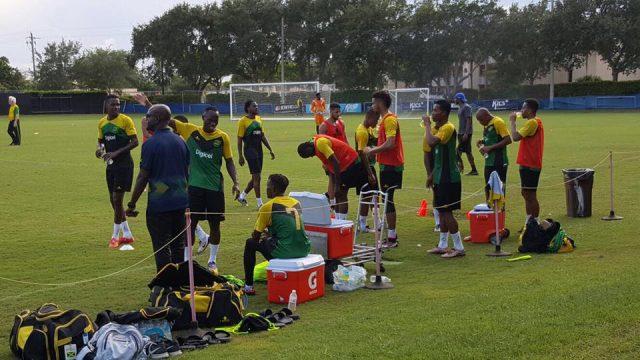 Reggae Boyz Arrive in Chicago for Copa America 2016