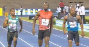 Usain Bolt Beats Yohan Blake, Asafa Powell in 100m at Racers Grand Prix