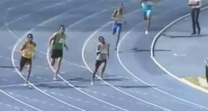 Christopher Taylor Wins 400m at the National Junior Championships