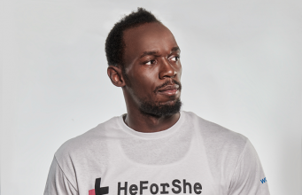 Usain Bolt Has Signed On To The HeForShe Campaign