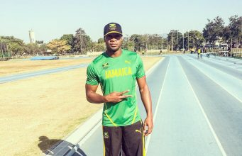 Asafa Powell Has Landed in Rio For Olympics