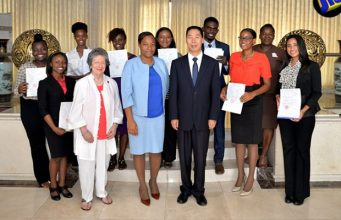 10 Jamaican Students Awarded Scholarships to Study in China.