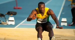 Damar Forbes Second in Long Jump at London Diamond League