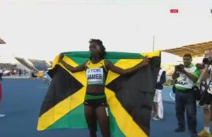 Tiffany James Becomes 1st Jamaican female 400m World Junior Champion