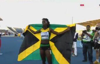 Tiffany James Becomes 1st Jamaican female 400m World Junior Champion