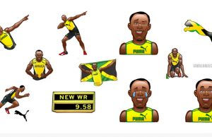 Usain Bolt Now Has His Own Emojis: Download Here