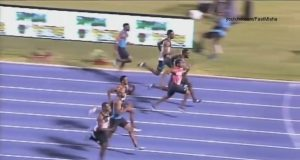 Yohan Blake Wins Men's 100m final in 9.95 to Become National Champion