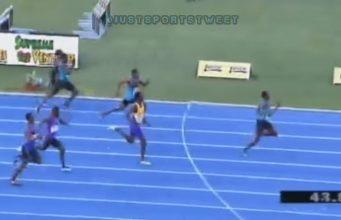 Javon Francis Wins Men's 400m in 44.95 at Jamaica Olympic Trials