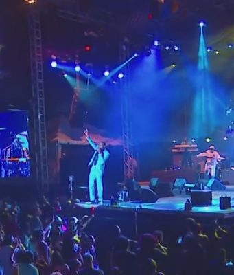 Sanchez Had The Crowd Singing along at Reggae Sumfest 2016