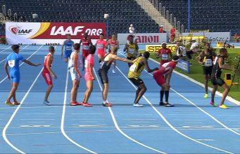 Jamaica Wins Bronze in Boys' 4x400m World Under-20 Champ Relay