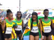 Jamaica Wins Silver in Women's 4x400m relay at World U-20 Champs