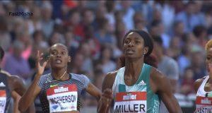 Stephenie-Ann McPherson 2nd in 400m at London Diamond League