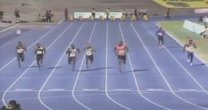 Usain BoltWins Heat 1 of Men's 100m at Jamaica Olympic Trials