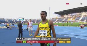 Jaheel Hyde Wins GOLD in 400m Hurdles at World U-20 Championships