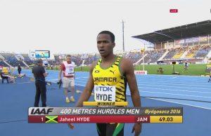 Jaheel Hyde Wins GOLD in 400m Hurdles at World U-20 Championships
