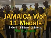 Jamaica Won 11 Medals at Rio Olympic Games