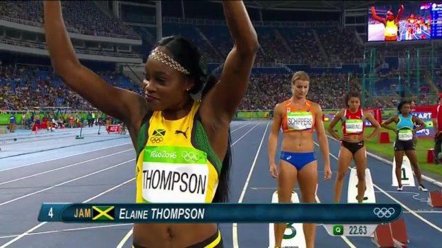 Elaine Thompson Beaten by Dafne Schippers in 200m Semi-final