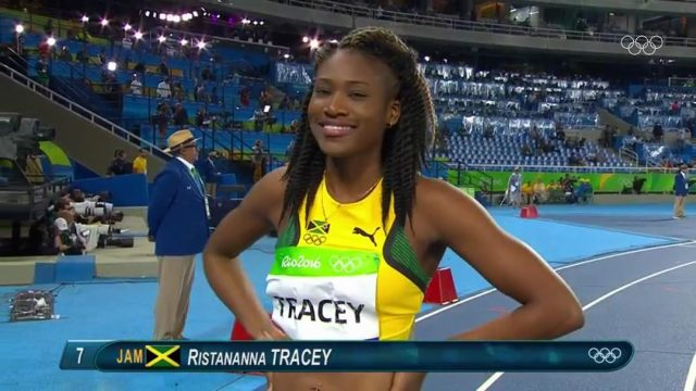 Ristananna Tracey Qualifies for Women's 400m Hurdles Final at Rio Olympics