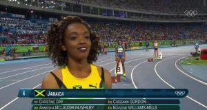 Jamaica wins Women's 4 x 400m Heat at Rio Olympics