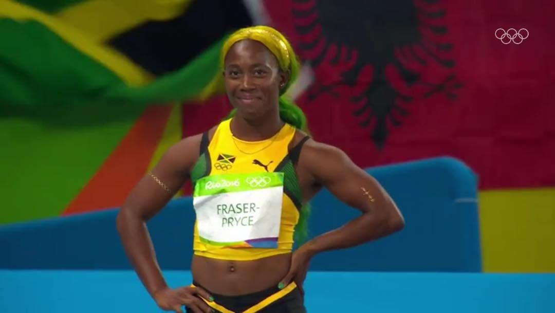 Jamaica's Women 4x100m Relay Team Wins Heat at Rio ...