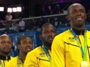 Watch Medal Ceremony For Jamaica's Men's 4x100m Relay at Rio Olympics