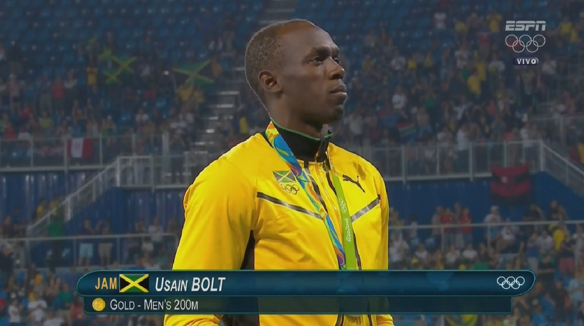 Usain Bolt Receives 8th Olympic Gold Medal