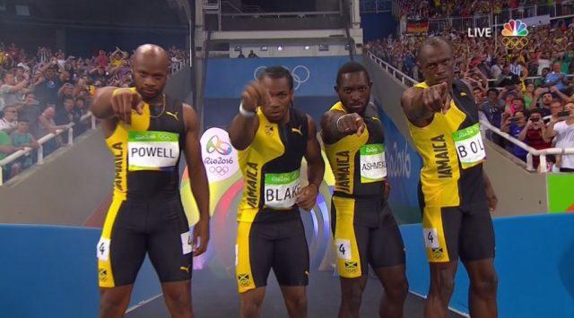 Jamaica Wins Men's 4 x 100m Relay GOLD at Rio Olympics